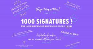 Une pétition à signer pour les travailleurs de la Culture