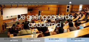 De geëngageerde academici