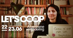 Algemene Vergadering: Let's coop 2020
