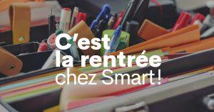 Formations, parcours, workshops : c'est la rentrée 2021 chez Smart !